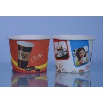 110ml Single Coated Multi Color Paper Cup Box