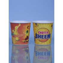 210ml Single Coated Multi Color Paper Cup Box